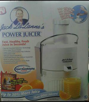 Jack La Lanne's Power Juicer for Sale in Montebello, CA