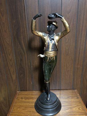 Dancer bronze statue for Sale in Chicago, IL