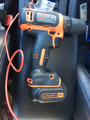 Black and decker drill for Sale in Flint, TX