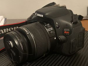 Canon Rebel T3i Canon T3i for Sale in Euless, TX