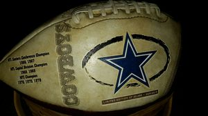 Vintage Dallas Leather Collectible Football for Sale in Sanger, CA