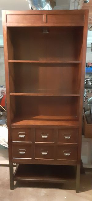 Bookcase with drawers for Sale in Beaver Falls, PA