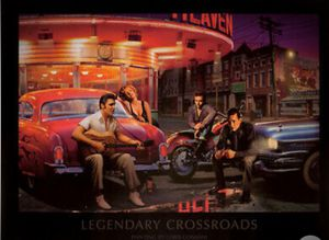 "32""x24"" Framed Poster Art -Legendary Cross Roads by Chris Consani for Sale in Los Angeles, CA"