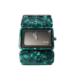 Womens Nixon Watch The Vega Emerald Acetate Green Marble Love The Hottness for Sale in Temecula, CA