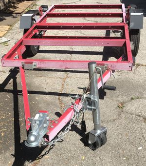 1980 lbs. Capacity 48 in. x 96 in. Super Duty Folding Trailer for Sale in Los Angeles, CA