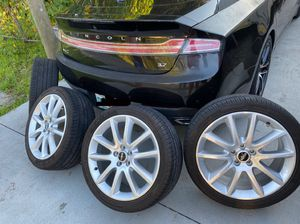 "Rims & tires Lincoln 17"" for Sale in Tampa, FL"