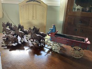 Cast iron wagon for Sale in Halifax, PA
