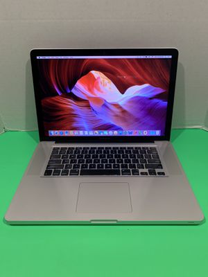 2009 Apple MacBook Pro / Core 2 Duo / 1TB / 8GB Memory / 15.4 inches / osX El Capitan / Office. for Sale in Homestead, FL