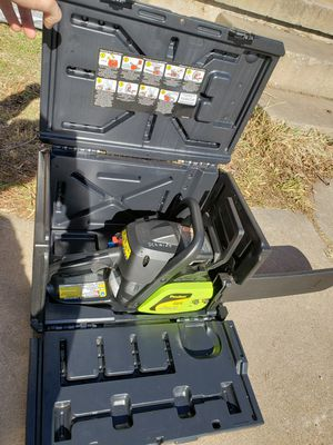 Poulan model p3618 16 inch chainsaw for Sale in Lawton, OK