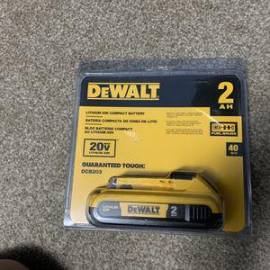 Brand New DeWALT Battery for Sale in Silver Spring, MD