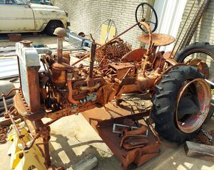1942 farmall cub tractor and mower for Sale in Plano, TX