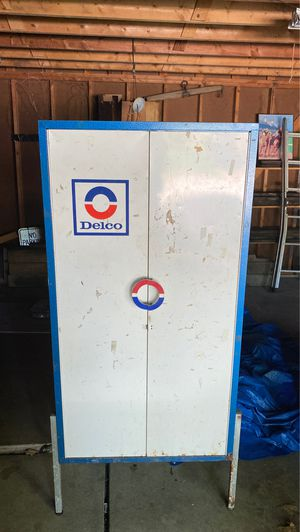 Delco advertising cabinet for Sale in Cleveland, OH
