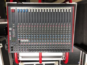 Allen & Heath ZED 24 audio mixing console and road case for Sale in Oakdale, PA