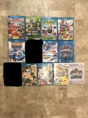 Nintendo Wii & Wii U Games Lot for Sale in Sultan, WA