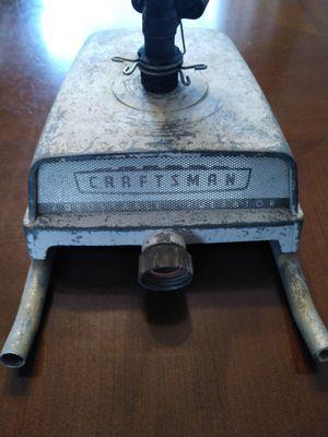 Vintage craftsman adjustable pulsator sprinkler for Sale in Cleveland, TN