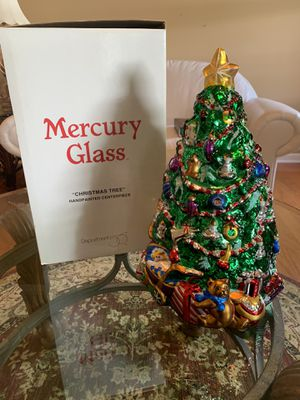 Department 56 Mercury Glass Christmas Tree for Sale in Franklin, TN