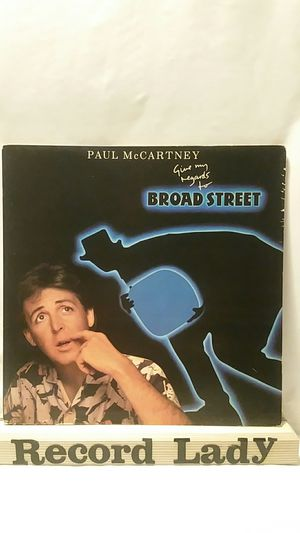 """Paul McCartney """"Give My Regards To Broad Street"""" vinyl record for Sale in San Diego, CA"""