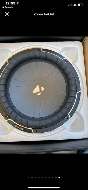 "Need repaired- 2-12"" kicker comp q subwoofers for Sale in Columbia Station, OH"