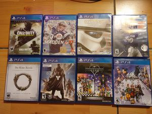 PlayStation 4 games for Sale in San Diego, CA