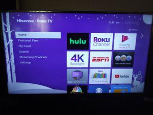 "40 "" HISENSE ROKU SMART TV for Sale in Poway, CA"