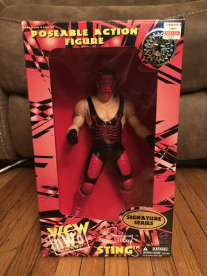 "WCW Limited Edition KB Toys Action Figure ""Sting"" Signature Series for Sale in Greece, NY"
