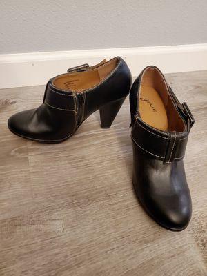 NEW Women's GNW Black boot style pumps Heels - Size 8.5 M for Sale in Auburn, WA