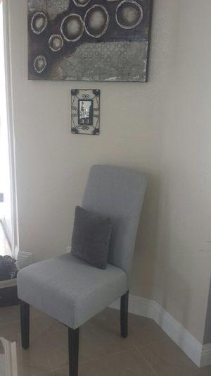 Modern Chair Grey Brand New $45 for Sale in Walnut, CA