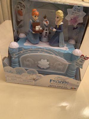 $45 Olafs Frozen Adventure Musical Jewelry Box for Sale in Miami, FL