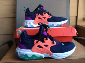 NEW YOUTH BIG KIDS WOMEN NIKE REACT PRESTO EXTREME (GS) RUNNING SHOES Sz 5Y = 6.5 WOMEN for Sale in The Colony, TX