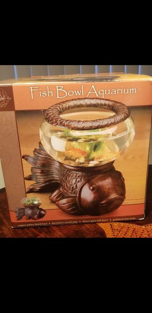 Koi Fish Desk Bowl fish tank for Sale in Riverside, CA