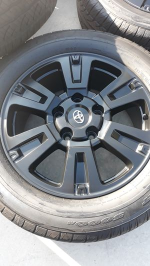"""NEW 20"""" TOYOTA TUNDRA SEQUOIA WHEELS RIMS 99% TIRES for Sale in Torrance, CA"""