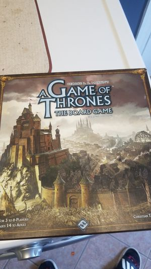 Game of thrones board game for Sale in New Orleans, LA