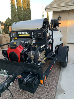 Hot water pressure washer for Sale in Fontana, CA