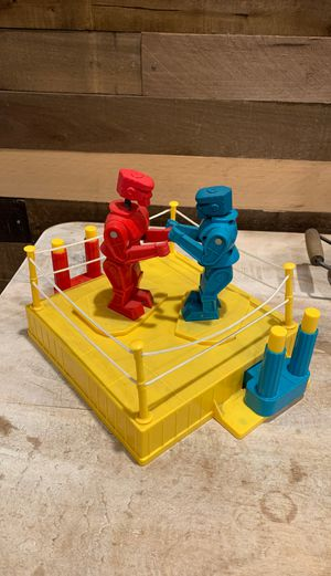 Rock em sock em robot game for Sale in Huntington Beach, CA
