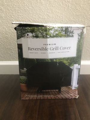 Reversible BBQ Grill Cover for Sale in Fresno, CA