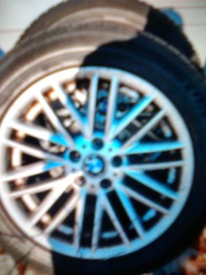2015 BMW 18 inch factory rims for Sale in Brockton, MA