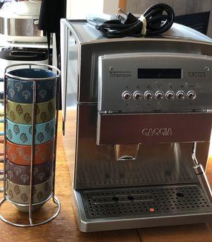 Gaggia Titanium Superautomatic Espresso Machine $450 OBO for Sale in Portland, OR