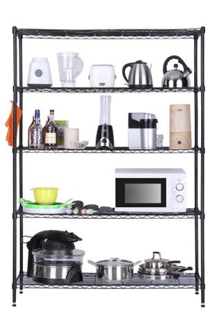 5 Tier Metal Rack ( Heavy duty Metal Shelves) for Sale in Falls Church, VA