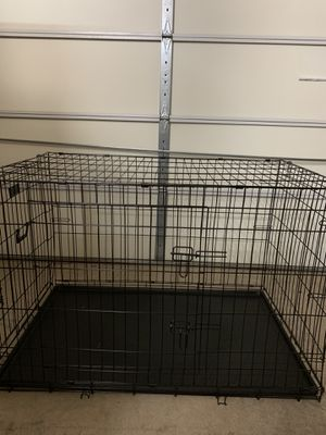 XXXL Double Door Foldable Wire Dog Crate for Sale in Chantilly, VA