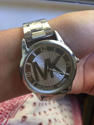 Mk Michael kors logo watch for Sale in Silver Spring, MD