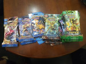 Pokemon cards sealed booster packs 2$ per pack for Sale in Tacoma, WA