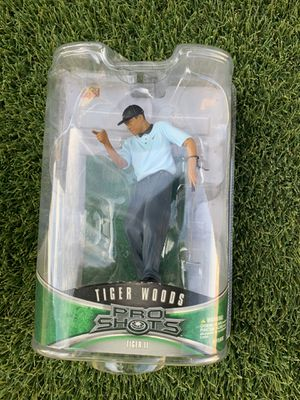 Upper Deck Pro Shot Tiger Woods 2008 PGA Champ Series 1 Golf Action Figure for Sale in Phoenix, AZ