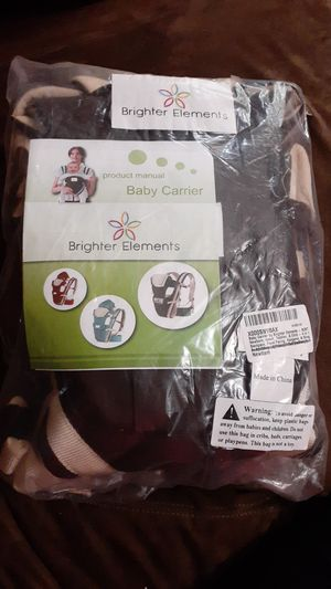Baby Carrier (Brighter Elements) for Sale in Fort Worth, TX