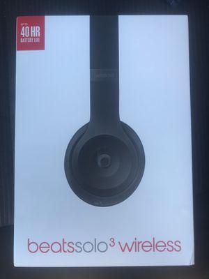 Brand new beats solo 3 wireless for Sale in Irvine, CA