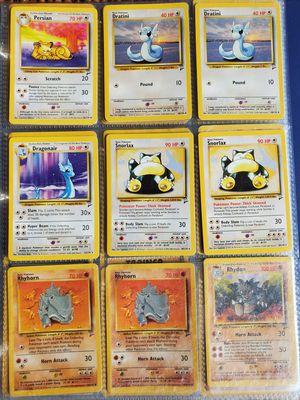 170+ Base Set Pokemon Cards WOTC for Sale in Petaluma, CA