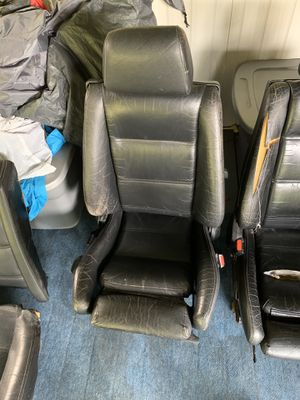 BMW E30 convertible front and rear seats for Sale in Monroe, WA