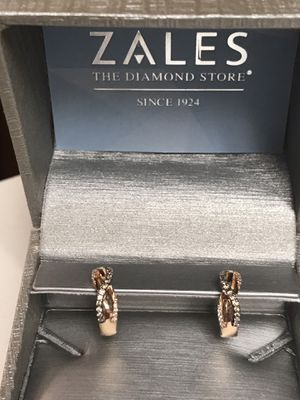 Earrings, LeVian Chocolate Diamond 14k Rose Gold for Sale in Aurora, MO