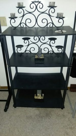 Misc shelves and computer desk and TV stand for Sale in US