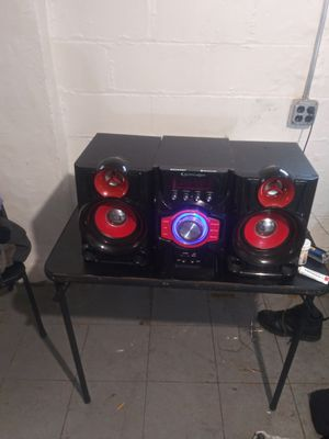 Technicalpro Bluetooth stereo system for Sale in Detroit, MI
