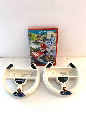 Nintendo Wii U Mario Kart 8 + Two Wheel for Sale in Mesa, AZ